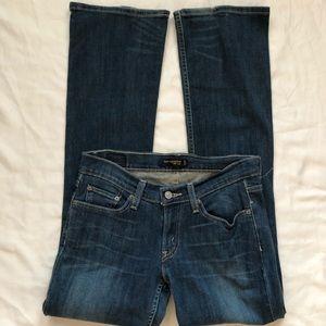 Levi's Too Superlow 524 Jeans Sz 7M